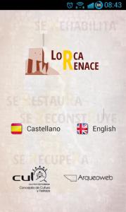 LorcaRenace, Aplicación Móvil